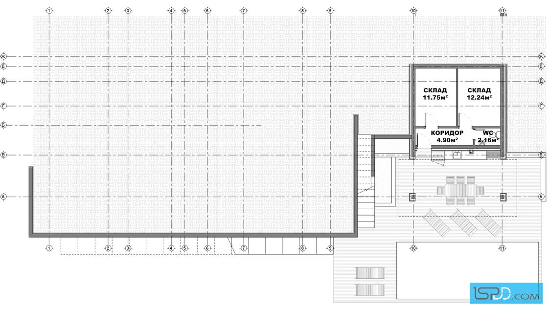 План на приземен етаж