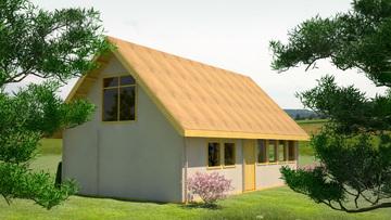 Проект 20 - Дървена слобяема къща