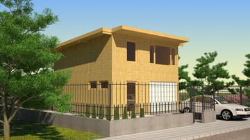 Проект 26 - Дървена сглобяема къща