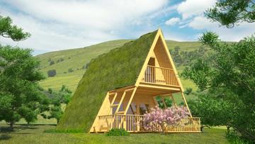 Проект 17 - Дървена сглобяема къща