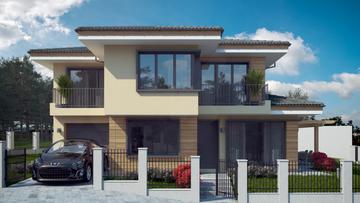 Проект на къща в с. Езерче