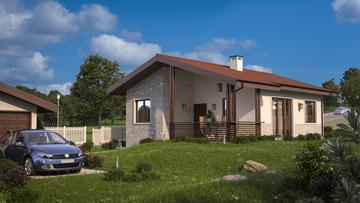 Проект на къща в гр. София