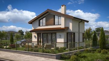 Проект на къща в гр. Костинброд
