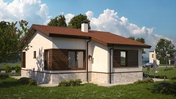 Проект на къща в с. Долна Малина