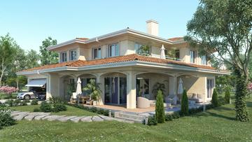 Готов проект на къща 55