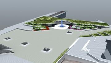 Подземен паркинг и площадно пространство