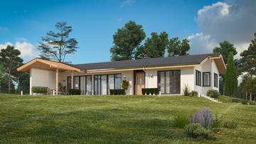 Проект на къща в гр. Ябланица